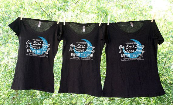 Charleston Bachelorette Shirt Sets //Last Chance to Play On East Bay and Upper King Before The Ring //Custom Bachelorette
