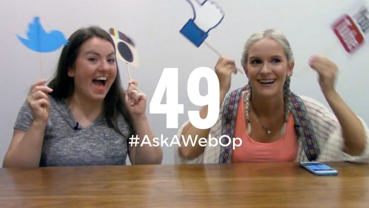 Kelsey and Taylor discuss their social media mantras that help build community…