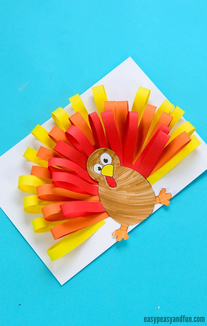 Paper Turkey Craft With Images Paper Plate Crafts For Kids