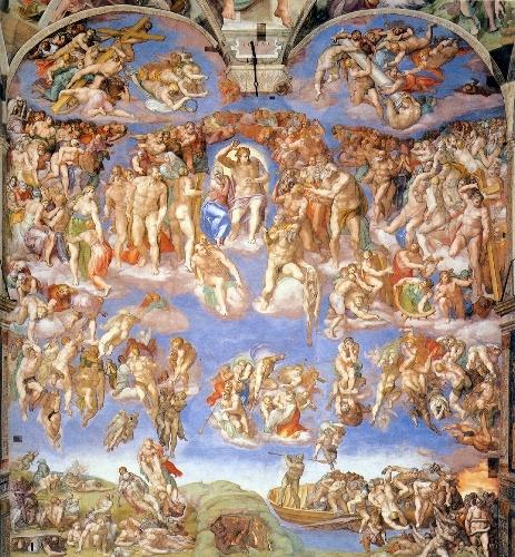 Vatican City. The Judgement, Michael Angelo.