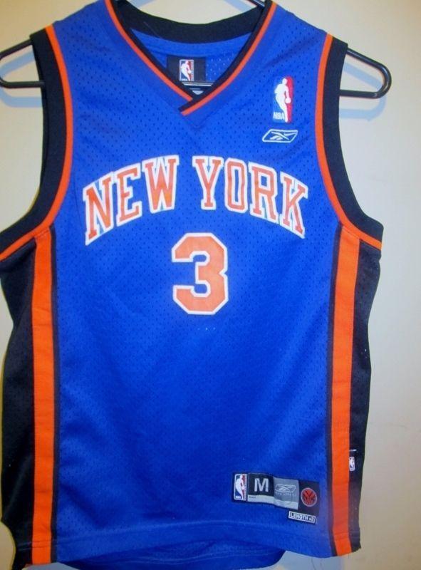 b66304fce481 Stephon Marbury - New Yorks Knicks jersey - Reebok Youth medium  Reebok   NewYorkKnicks