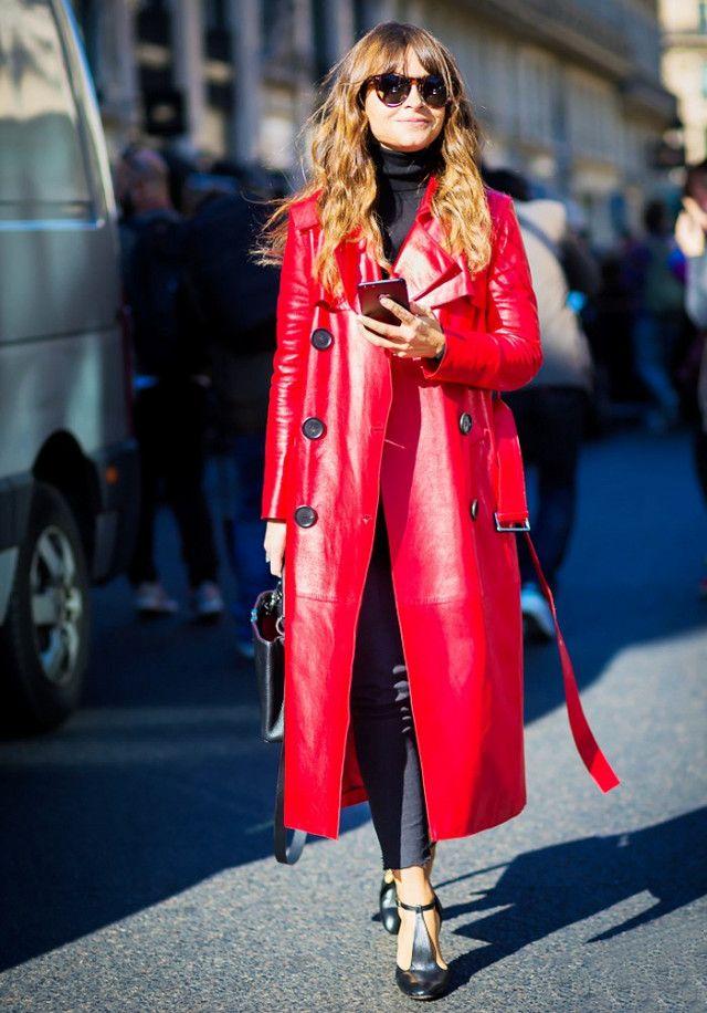 #1: Statement Coat + Skinny Jeans + Heels
