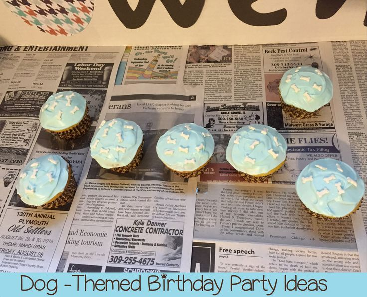Dog-Themed Birthday Party Ideas
