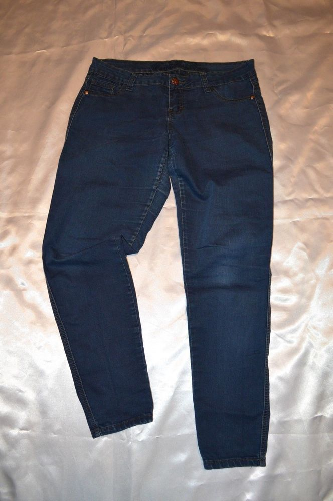 783f83289c26 Macy's Vanilla Star Juniors sz 11 Mid Rise Skinny Ankle Jeans 111052  v2353-468 #fashion #clothing #shoes #accessories #womensclothing #jeans #ad  (ebay link)