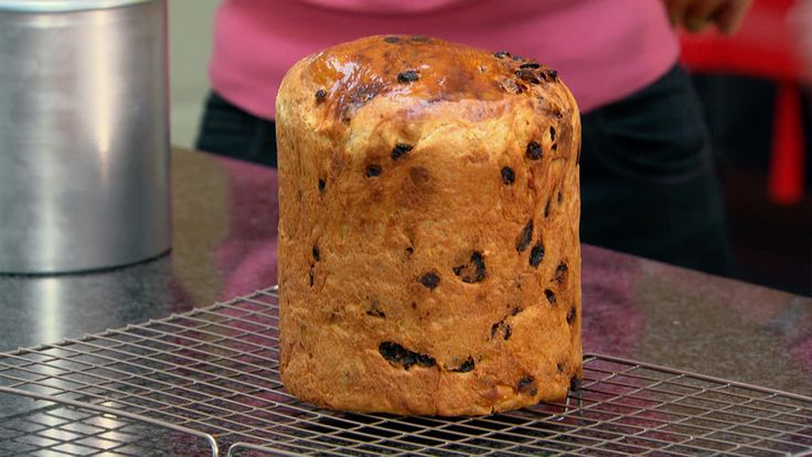 Panettone is a sweet enriched bread, with a delicate cakey texture. Recipe by Paul Hollywood featured in the Masterclass.