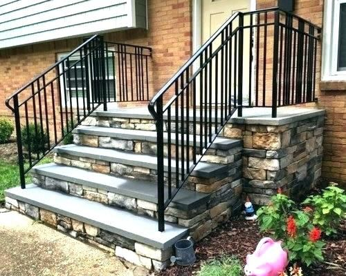 Best Pin By Kristin Ryan On House Exterior Stairs Exterior Stair Railing Stair Railing 640 x 480