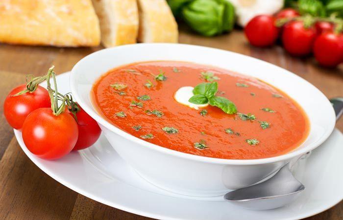Vegetable Soup Recipes For Weight Loss - Tomato Soup, maar dan zonder de suiker.