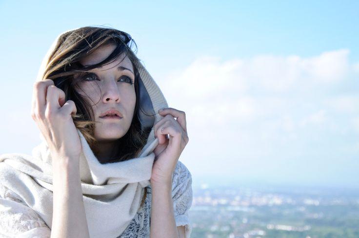 Lämmin Ilves | Hooded Scarf | Wool ❤ Silk