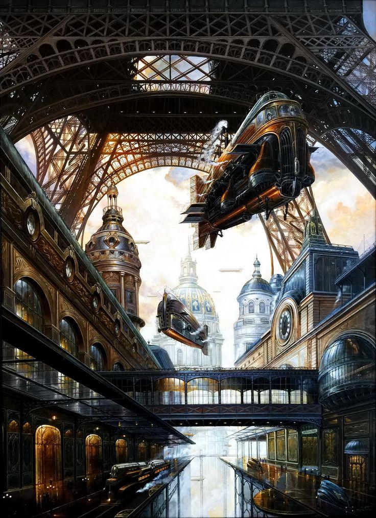 Œuvre originale par Didier Graffet dans la catégorie Illustrations