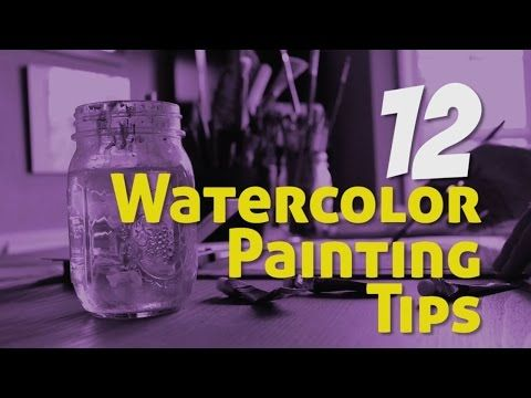 Watercolor Painting Tips - YouTube