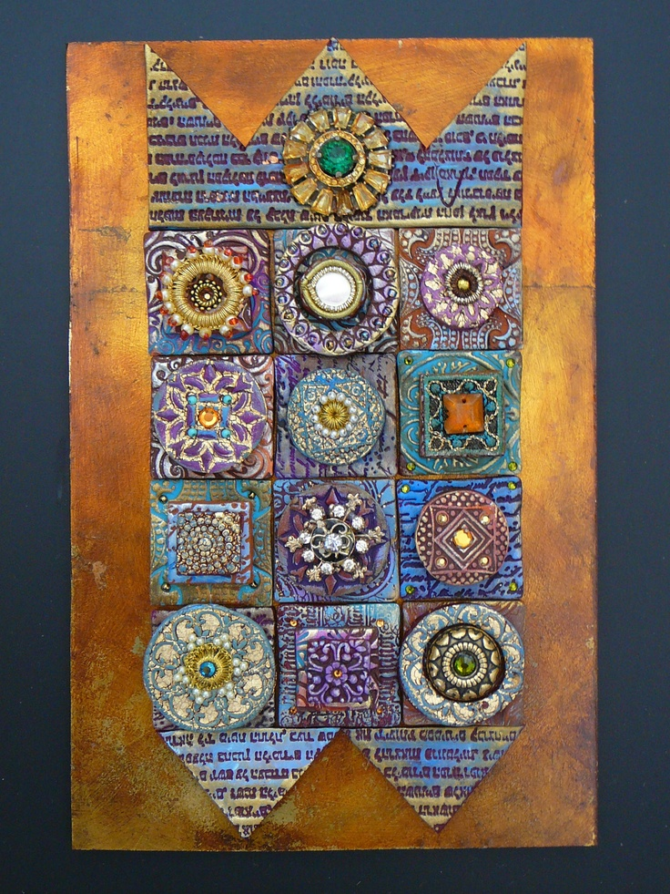 Laurie Mika clay quilt series 21 best Poly