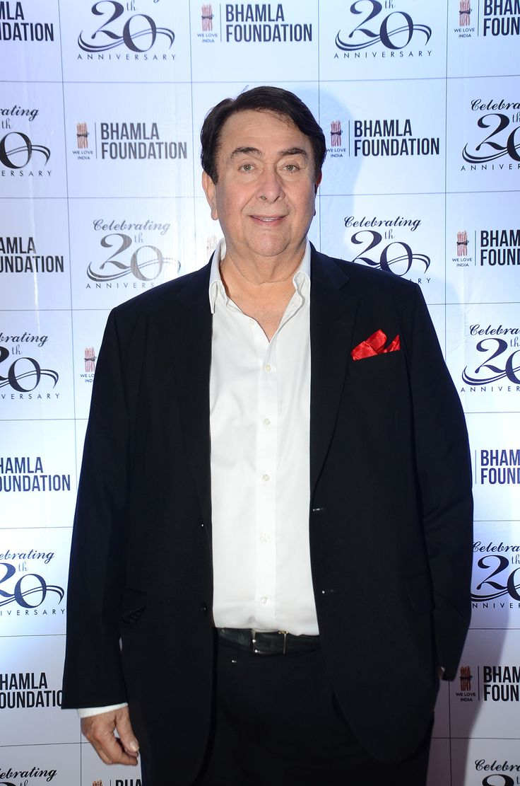 Randhir Kapoor at the 20th anniversary celebrations of Bhamla Foundation