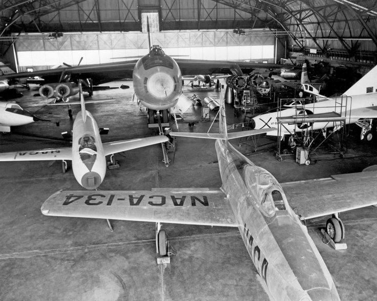 Various Naca Research Aircraft In Hangar In 1953 - 8X10 Photo (Aa-676) FOR SALE • $9.98 • See Photos! Money Back Guarantee. VARIOUS NACA RESEARCH AIRCRAFT IN HANGAR IN 1953 (AA-676) In the center foreground of this 1953 hanger photo is the YF-84A (NACA 134/Air Force 45-59490) used for vortex generator research. 151264906002