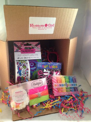 Tween Subscription Box Blossom Girl Products I Love