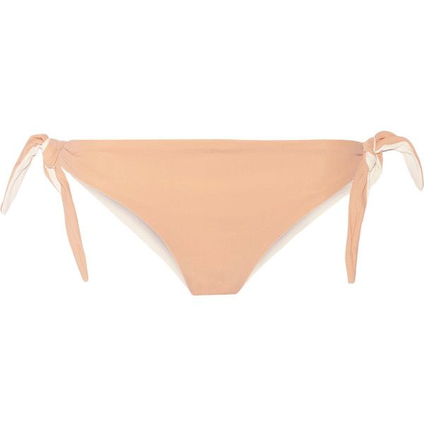 Solid and Striped The Jane bikini briefs ($45) ❤ liked on Polyvore featuring neutral
