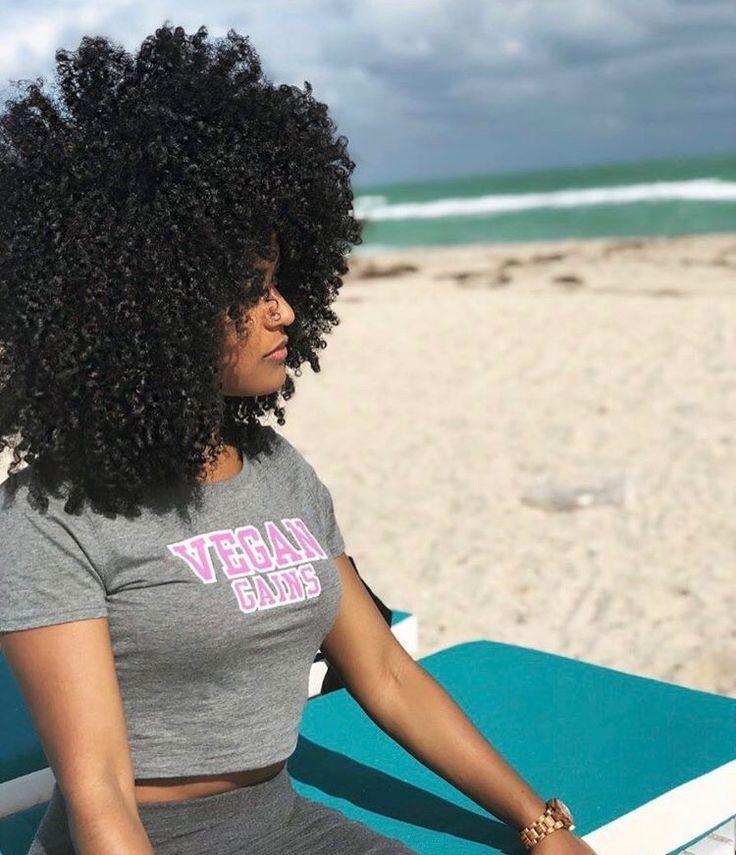 Natural Beach Hair Natural Hair Styles Curly Hair Styles Beach Hair