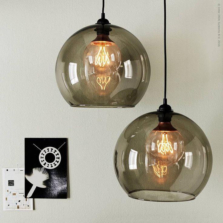 Under mörka höstkvällar är läckra lampskärmarna #JAKOBSBYN och #NITTIO LED-ljuskälla en lysande retrokombo!