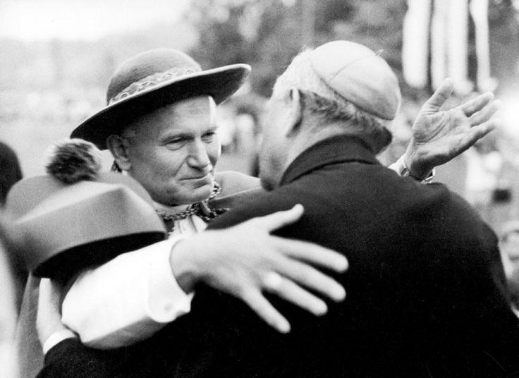 Karol Wojtyła, 1979, Kraków, fot. Jan Morek /Forum