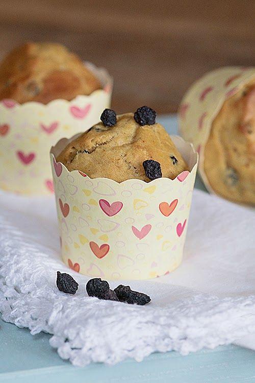 Veganpassion: Aronia-Orangenmuffins (zuckerfrei)