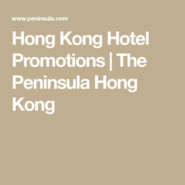 Hong Kong Hotel Promotions | The Peninsula Hong Kong