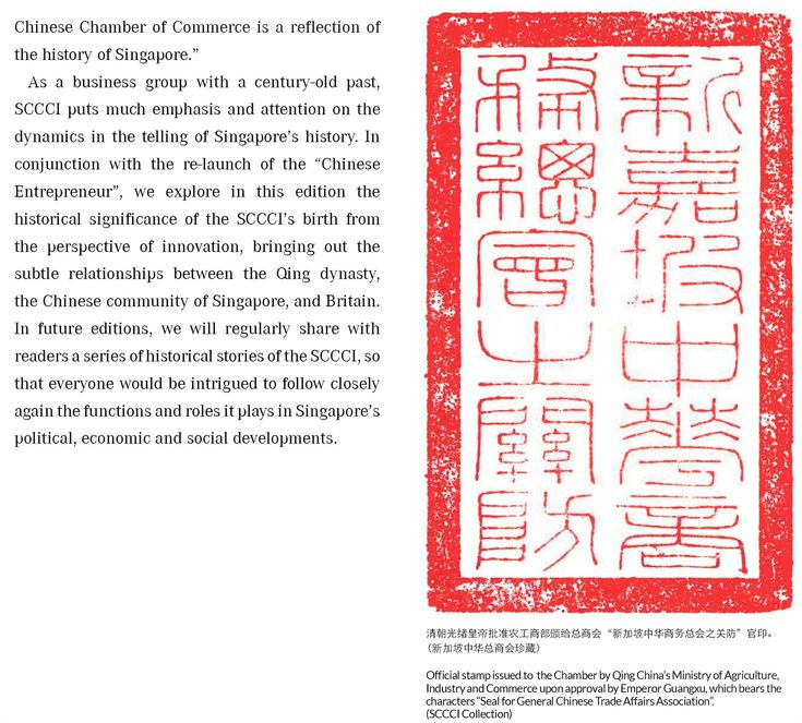 Singapore Chinese Chamber of Commerce in 2020 History of
