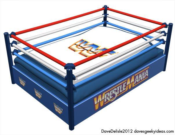Wrestling Bed Wwf Wwe Dave Delisle 2012