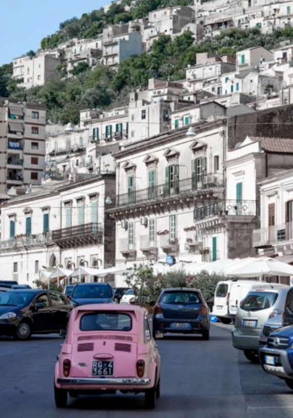 """This magnificent street view is from our feature """"Splendours of Sicily"""""""
