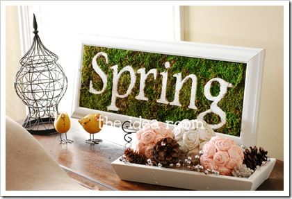 Spring DecorHoliday, Decor Ideas, Crafts Ideas, Easter Crafts, Spring Decor, Diy Tutorials, 3 Dimensional Spring, Spring Signs, Diy Projects