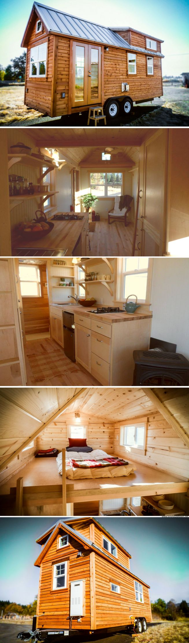 The Paytte tiny house from TruForm Tiny Homes