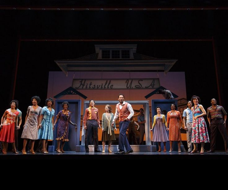 """Charles Randolph-Wright, director of Motown the Musical, delves into the fascinating history of an inimitable American record company. (Image Credit: """"Brandon Victor Dixon and the Original Broadway Cast of Motown the Musical."""" Photo courtesy of Motown the Musical.) #Motown #musicals #interview"""