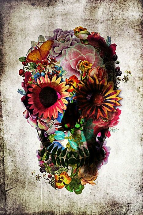 Day of the Dead - Candy skull