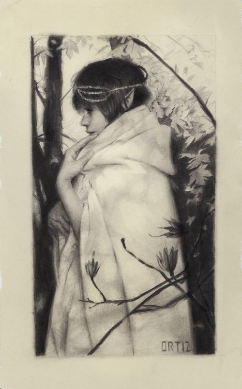 Arwen by Karla Ortiz - Gallery Nucleus