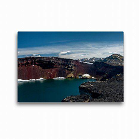 Schloss Schottland See Wasser Felsen Wallario Premium Acrylglasbild 60 x 90 cm