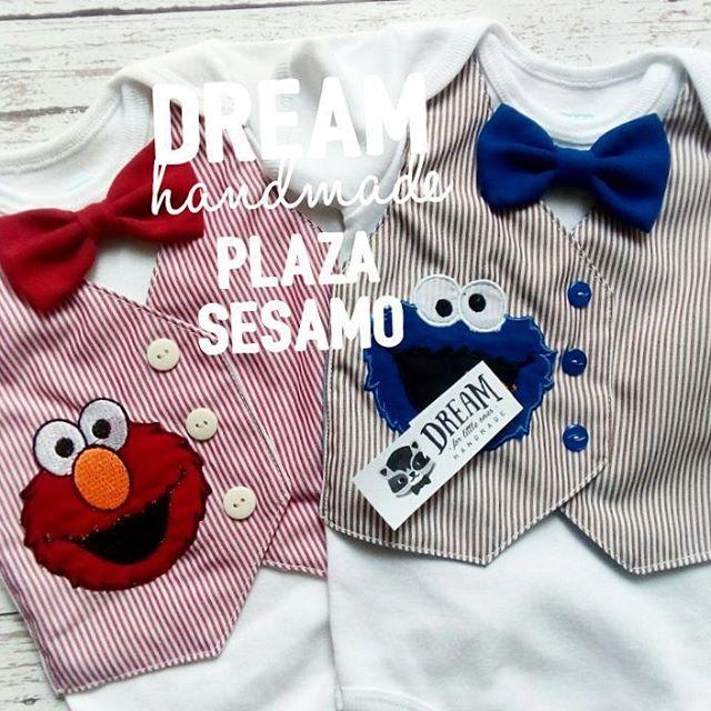 Tienda online:  www.kichink.com/stores/dream-handmade  Plaza sesamo  #Elmo  #comegalletas   Modelos disponibles desde #3m hasta talla 3  #handmade #kichink #babyboy  #cookiemonster #mx #hechopormexicanos #bb #niños #kids