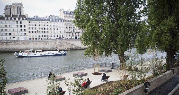 Paris: les quais bas rive droite piétonniers dès 2016