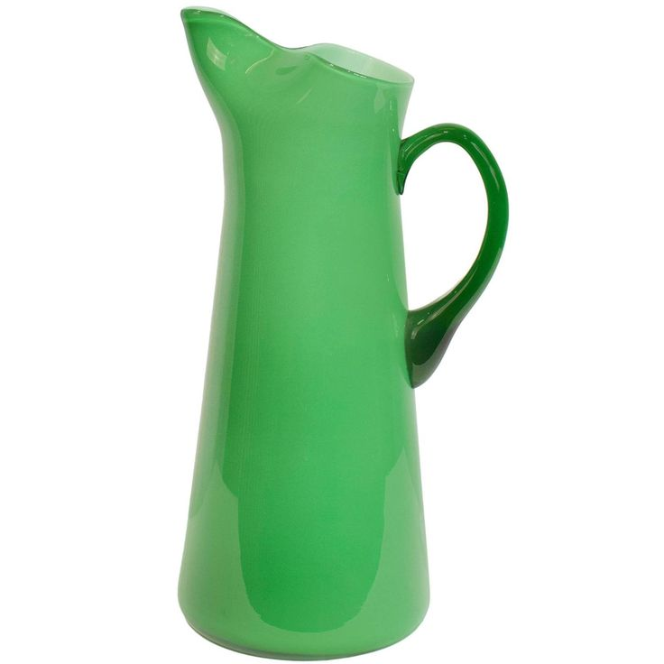 Green Cased Glass for Holmegaard   From a unique collection of antique and modern glass at https://www.1stdibs.com/furniture/dining-entertaining/glass/