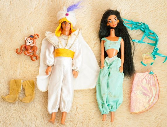 https://www.etsy.com/listing/223095296/two-vintage-aladdin-and-jasmine-dolls
