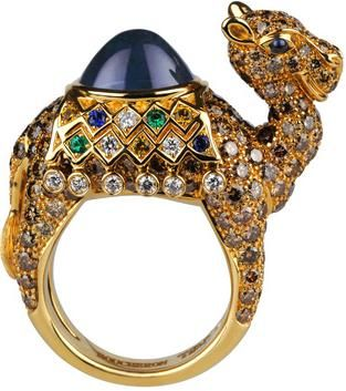 Jewelled Camel Ring <3