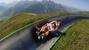 Luge. Summer in Gstaad #summer #alpine #alpinesummer #switzerland #gstaad #leolovesgstaad #moutains #alps