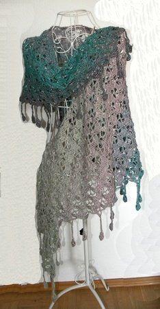 Drachenschal Ringelreihen Mit 1 Woolly Hugs Bobbel Cotton