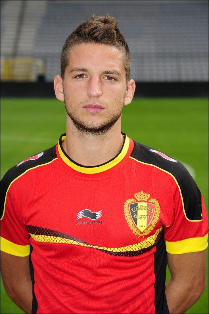 Dries Mertens, our pride! Later #BelRedDevils will play against Russia #tousensemble
