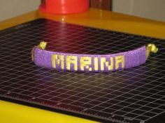 DIY Friendship Bracelet : DIY Name Bracelet, Friendship Bracelets