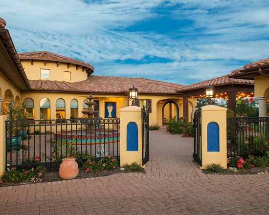 A Collection Of Exterior Designs In Which We Have Featured 15 Captivating  Southwestern Home Exterior Designs Youu0027ll Fall For.