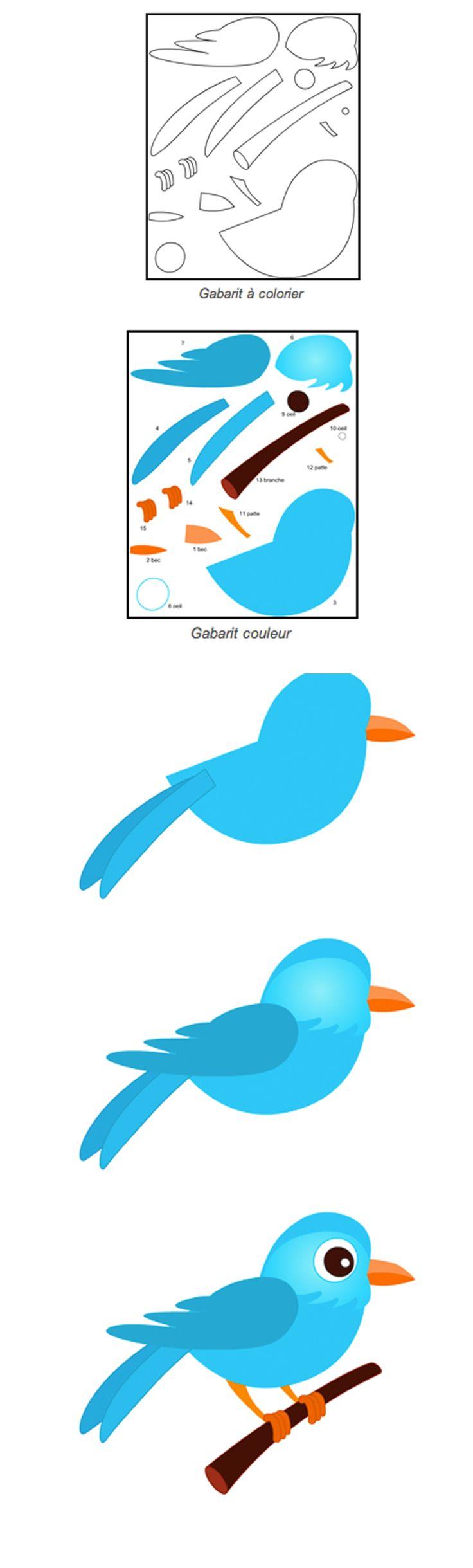 http://turbulus.com/bricolage/decoupage-collage/342-decoupage-oiseau