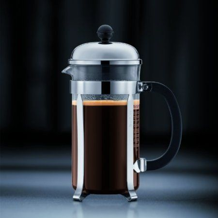 Bodum Chambord Coffee Press http://french-press-coffeemaker.blogspot.com #bodum #chambord #coffeepress