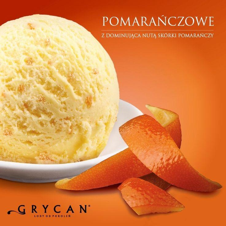 lody pomarańczowe | orange ice cream