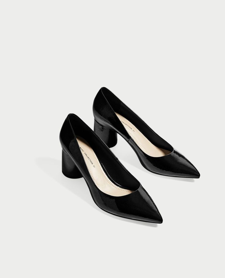 ZARA - WOMAN - POINTED MEDIUM HEEL SHOES