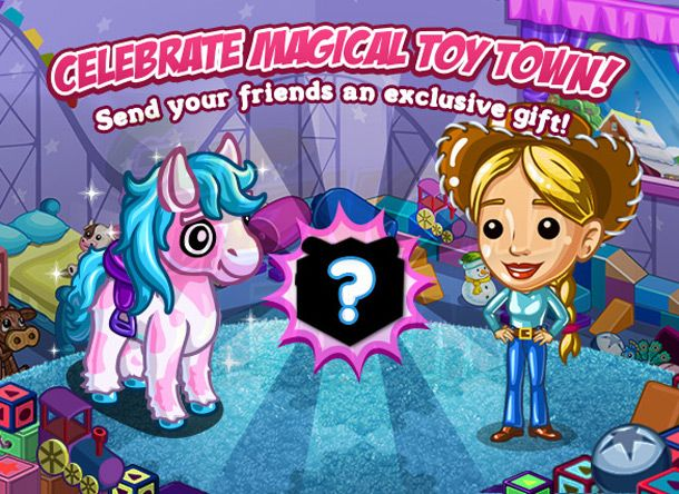 Magical Toy Town: Gifting Neighbor 1
