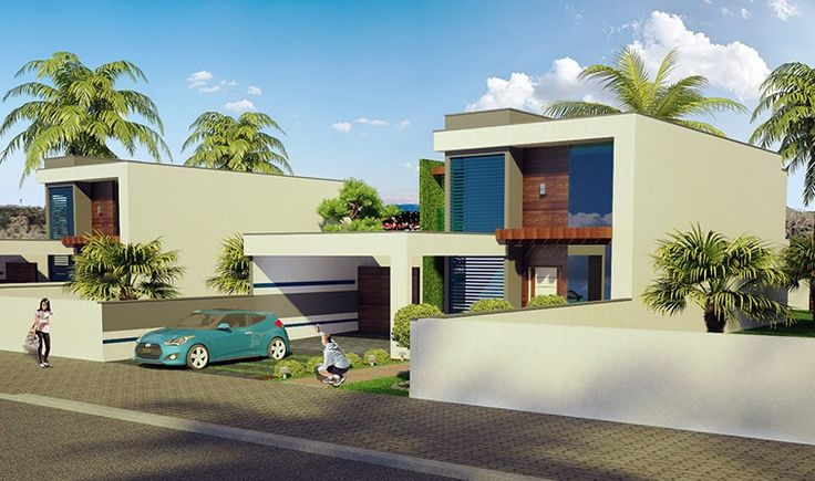 Casa Florianópolis, lindo projeto de sobrado com 2 quartos, suite e piscina no estilo raia. Veja outros projetos de casas e sobrados prontos para construir