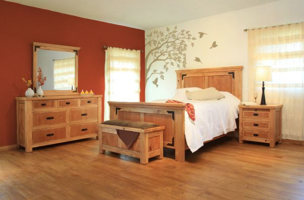 5 Piece Lodge Bedroom 104-5PC